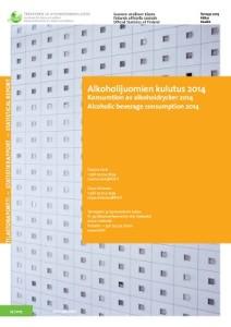 Kansikuva: alkoholijuomien kulutus 2014